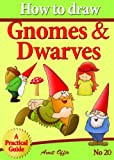 How to Draw Gnomes and Dwarves - Educational Game For Kids (How to Draw Comics and Cartoon Characters)