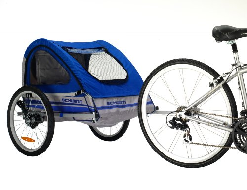 New Schwinn Trailblazer Double Bicycle Trailer
