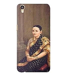 EPICCASE Masterpiece Mobile Back Case Cover For Oppo F1 Plus (Designer Case)