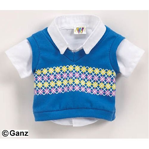 Webkinz Clothing - Smart Sweater Vest