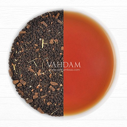 Double Spice, Original Masala Chai Tea (40 Cups), Black Tea blended with Fresh & Rich Spices - Cardamom, Cinnamon, Cloves & Black Pepper, India's Original Masala Chai Extra Strong Spices,3.53oz (Keurig Bigelow Chai Tea compare prices)