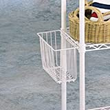 White Snap On Basket