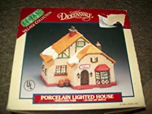 Lemax Dickensvale Collectible Porcelain Lighted House Ann's Nursey