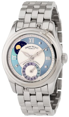 Armand Nicolet Women's 9151A-AK-M9150 M03 Classic Automatic Stainless-Steel Watch