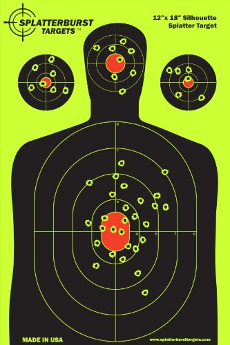 50-pack-12x18-silhouette-splatterburst-shooting-targets-instantly-see-your-shots-burst-bright-fluore