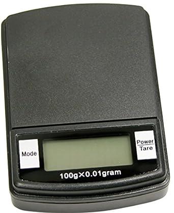 Digital Pocket Scale 100 Gram Capacity X 0.01 Gram Sensitivity