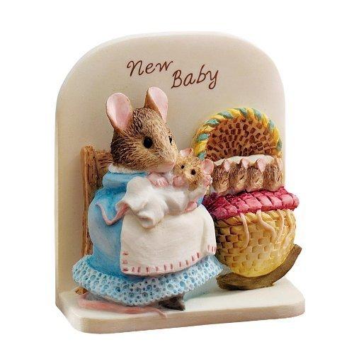Peter Rabbit And Friends Border Fine Arts - Beatrix Potter - Hunca Munca New Baby front-1016471
