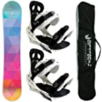 AIRTRACKS LADY SNOWBOARD SET - BOARD...
