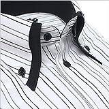 ボットーニ風 襟高デザイン ボタンダウンシャツ Z039