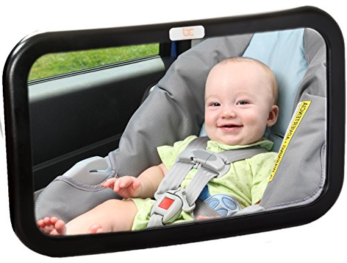 Baby-Caboodle-Backseat-Baby-Mirror-Extra-Large-Ideal-for-Rear-Facing-Infant-Car-Seats-Adjustable-360-Degree-View-Crystal-Clear-Viewing-Shatterproof