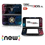 Ci-Yu-Online VINYL SKIN [new 3DS XL] - Monster Hunter X #1 Cross - Limited Edition STICKER DECAL COVER for NEW Nintendo 3DS XL / LL Console System