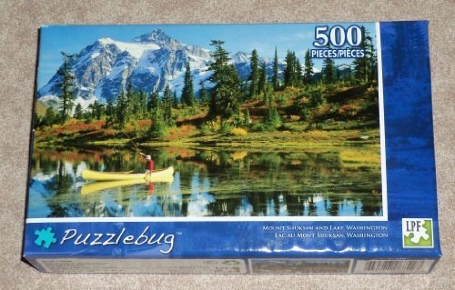 """Mount Shuksan and Lake, Washington"" ~ 500 Piece Jigsaw Puzzle"