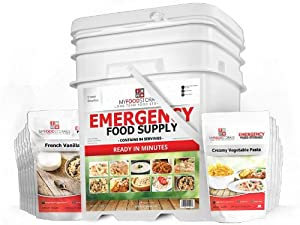 MyFoodStorage 84 Serving Breakfast and Entrée - BEST Long Term Emergency Bulk... by Freeze Dried Foods - MyFoodStorage