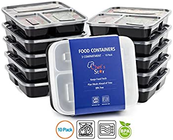 10-Pk. Chef's Food Storage Containers