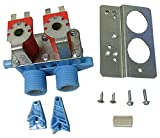 285805 Water Valve - 120 VAC Washer Inlet Valve Kit - Will work with Whirlpool, Maytag, Alliance, Electrolux, GE, Kenmore, Amana, Admiral, Frigidaire