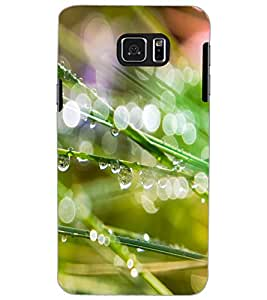SAMSUNG GALAXY NOTE 5 WATER DROPS Back Cover by PRINTSWAG