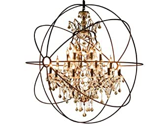 Foucault's Orb Crystal Chandelier Extra-Large