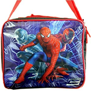 Spiderman Lunch Bag With Shoulder Strap 45