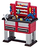 American Plastic Toy 37 Piece Deluxe Workbench