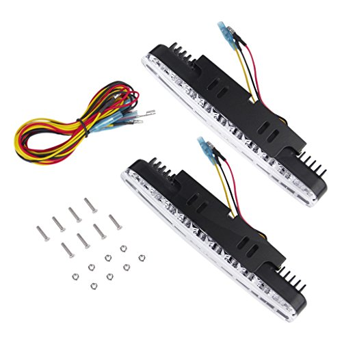 2pcs 30 LED Lampe Pour Voiture Benz Diurne lumiere + Clignotant 12V DC