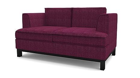 Moreton 2 Sitzer Sofa lila, Couch , Jugendsofa, couchgarnituren, lounge möbel