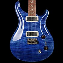 PRS Paul's Guitar Trem - Artist Grade Figured Maple - Faded Blue Jean - #212213