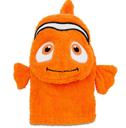 Disney Finding Nemo Bath Mitt For Baby front-157640