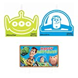 Toy Story Birthday Candles - Birthday and Theme Party Supplies - 4 Per Pack