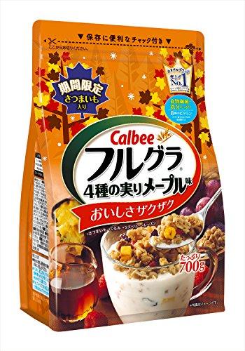 カルビー フルグラ4種の実りメープル味 700g×6袋