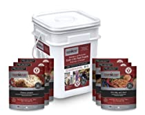 Camp Chef Camping Outdoor and Emergency Grab and Go Food Kit-Freeze Dried Food (30 Servings, 15 Pouches)