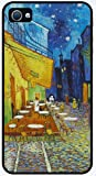 Midnight in Rodarte by Vincent Van Gogh - RUBBER iPhone 4 or 4s Cover, Cell Phone Case