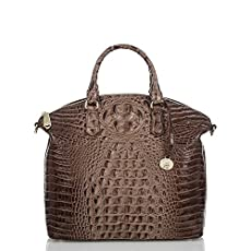 Large Duxbury Satchel<br>Nutmeg Melbourne