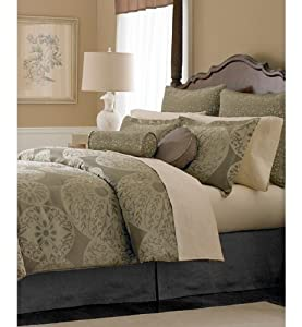 martha stewart collection sand dollar 24 piece well decorated bedroom queen. Black Bedroom Furniture Sets. Home Design Ideas