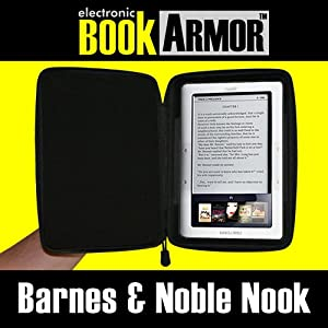 BookArmor (tm) High Impact Travel Case for Barnes & Noble Nook / B&N Nook Reader