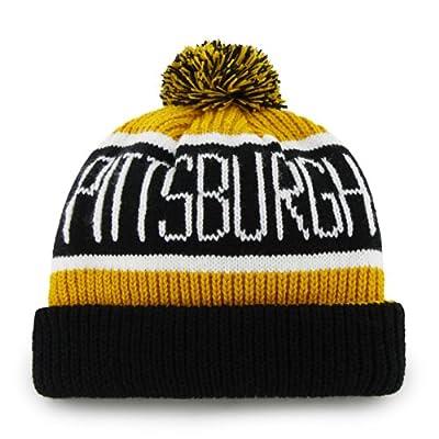 MLB Pittsburgh Pirates Men's Calgary Knit Cuff Cap, One-Size, Gold