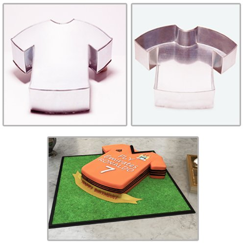 T Shirt Shaped Professional Novelty Cake Baking Pan Tin