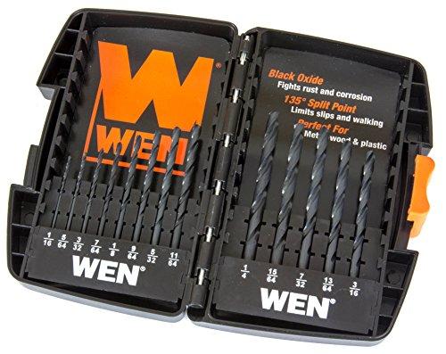 WEN-DB13-Black-Oxide-Drill-Bit-Set-13-Piece