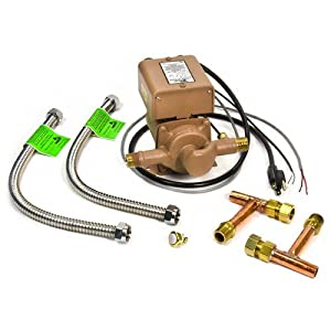 Taco 006-DM-PK D'Mand System, Complete w/ plumbing kit, 1/40 HP