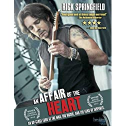 An Affair of the Heart: Rick Springfield [2-disc Blu-ray]