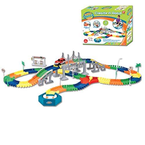 Jouet-Educatif-Circuit-de-Course-Vhicule-Miniature-Electronique-avec-Multi-Piste-Rougeoyant-Piste-Basculant-du-Rail-Ferroviaire-Construction-Cadeaux-pour-les-Enfants-192-Pices