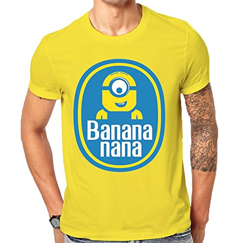 despicable-me-chiquita-bananas-inspired-minion-funny-logo-mens-classic-t-shirt-small