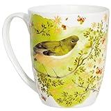 Citrus Bird Coupe Mug