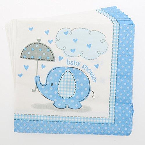 Blue Elephant Baby Shower