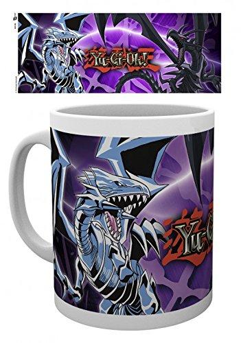 Set: Yu-Gi-Oh!, Dragons Tazza Da Caffè Mug (9x8 cm) E 1 Sticker Sorpresa 1art1®