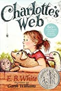 Charlotte's Web by E. B. White, Kate DiCamillo cover image