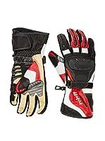 Roleff Racewear Guantes Roleff Racewear (Negro / Rojo)