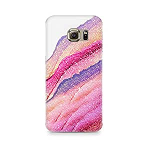 Ebby Pink Lava Premium Printed Case For Samsung S6 Edge Plus