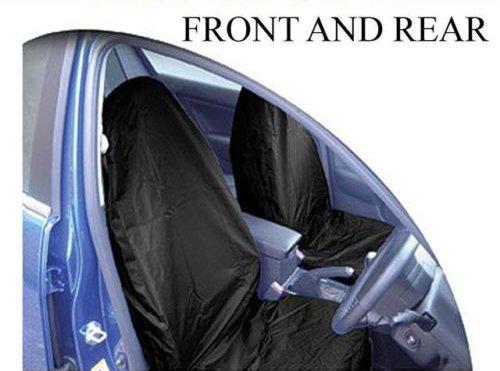 FRONT + REAR CAR SEAT COVER PROTECTOR for SUZUKI GRAND VI