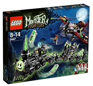 Lego Monster Fighters - 9467 - Jeu de Construction - Le Train Fantôme