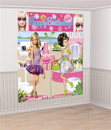 Imagen de Todas las Barbie Doll'd Hasta Setter Escena Decoración (Rosa) Accesorio Partido